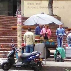 Puesto Ambulante Jugo de Naranja Nº 2 en Bogotá