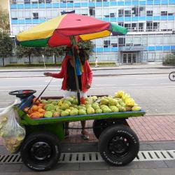 Puesto Ambulante de Mango de Esteban Sanchez en Bogotá