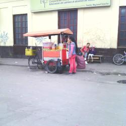 Punto Ambulante de Hidratacion Salpicón - Jugo de Naranja en Bogotá