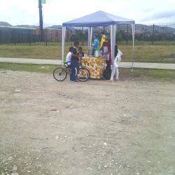 Punto Ambulante de Hidratacion Jugo Naranja en Bogotá
