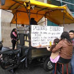Puesto Ambulante Los Burritos de Leonardo en Bogotá