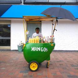 Puesto Ambulante de Mango Biche Orley Hernandez en Bogotá