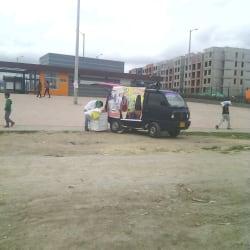 Punto Ambulante de Hidratacion Helados en Bogotá