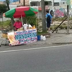 Jugo de mandarina en Bogotá