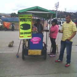Punto Ambulante Pasabocas - Minutos a Celular en Bogotá