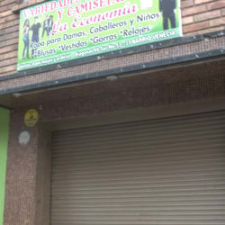 Variedades en sadaderas y camisetas la economia en Bogotá