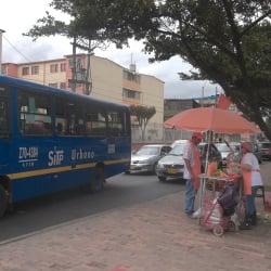 Punto Ambulante de Jugo de Naranja en Bogotá