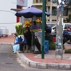 Puesto Ambulante Venta de Flores Señora Esperanza en Bogotá