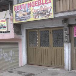 Rusti muebles geraldine en Bogotá