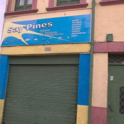 Say pines en Bogotá
