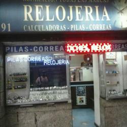 Taller de relojería en Enrique Mac Iver en Santiago