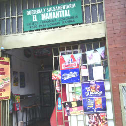 Queseria y Salsamentaria el Manantial en Bogotá