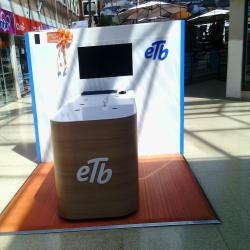 Punto de Venta de ETB  en Bogotá