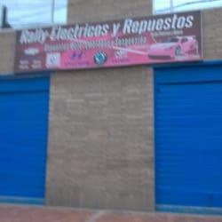 Rally Electricos Vargas E.U. en Bogotá