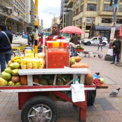 Puesto Ambualnte Jimmy Perlaza Guerrero en Bogotá