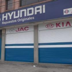 Tiendas Alda Autorepuestos en Bogotá