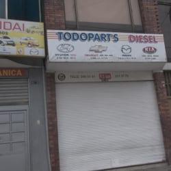 Todopart's Diesel en Bogotá