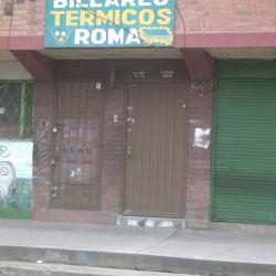 Billares Termicos Roma en Bogotá