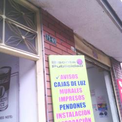 Bisonte publicidad en Bogotá