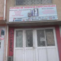 Centro De Servicio Especializado en Bogotá