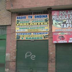 Radio tv ondina en Bogotá