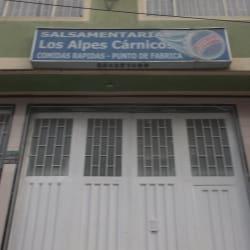 Salsamentaria Los Alpes Carnicos en Bogotá