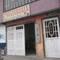 Restaurante y Pescaderia D´Santa Marta en Bogotá