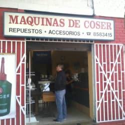 Servicio Técnico de Máquinas de Coser en Santiago