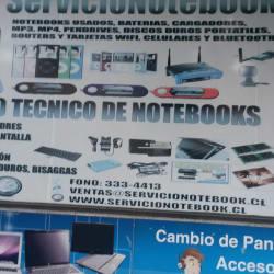 Servicio Notebook  en Santiago