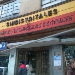 Sindistritales en Bogotá