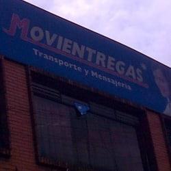 Transportes y Mensajerias Movientregas en Bogotá
