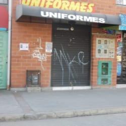 Uniformes Calle 52 con 93D en Bogotá