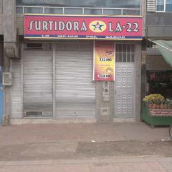 Surtidora la 22 en Bogotá