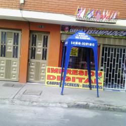 Carpas y Estampados en Bogotá