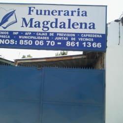 Funeraria Magdalena en Santiago