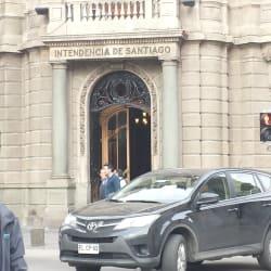 Intendencia de Santiago en Santiago