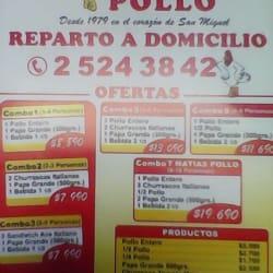 Matia's Pollo en Santiago