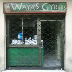 Restaurante Waya's Giros en Santiago