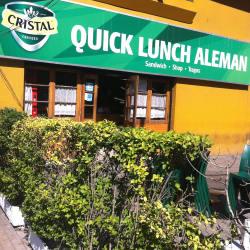 Quick Lunch Alemán en Santiago