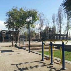 Parque La Bandera en Santiago