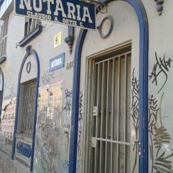 Notaría Claudio Ortiz Cerda en Santiago