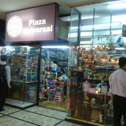 Plaza Universal en Santiago