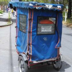 Bici Taxi # 21 en Bogotá