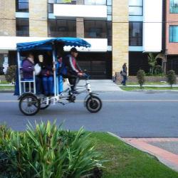 Bici Taxi # 4 en Bogotá