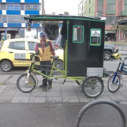 Bicitaxi Saul Ospina  en Bogotá