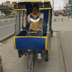 Bicitaxi # 29 en Bogotá
