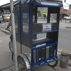 Bicitaxi # 26 en Bogotá