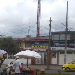 Puesto Ambulante de Fruta en Bogotá