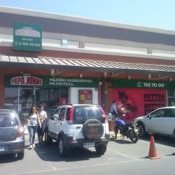 Pizzería Papa Johns - Arauco Express en Santiago