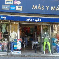 Vestuario Más y Más en Santiago